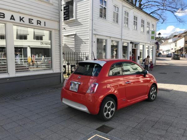Fiat elbil 2018