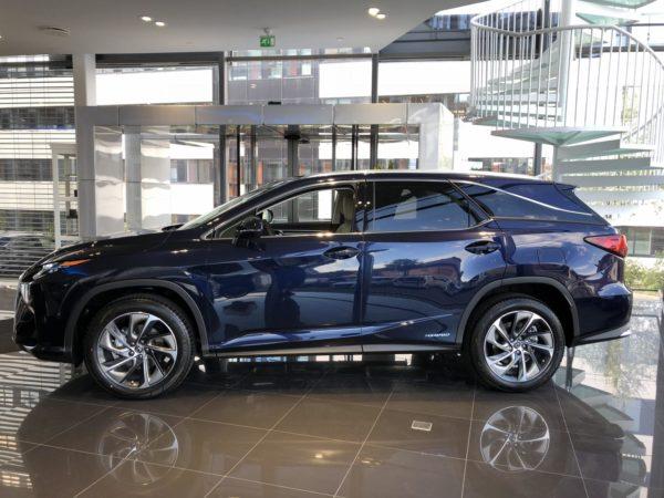 Lexus rx 450h test