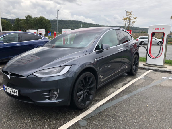 Test av Tesla Model X 100D (aug 2018) Nybiltester