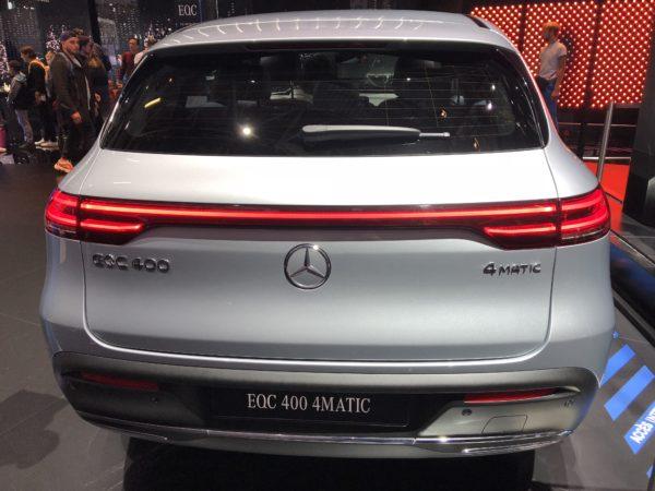 Mercedes elbil 2018 pris