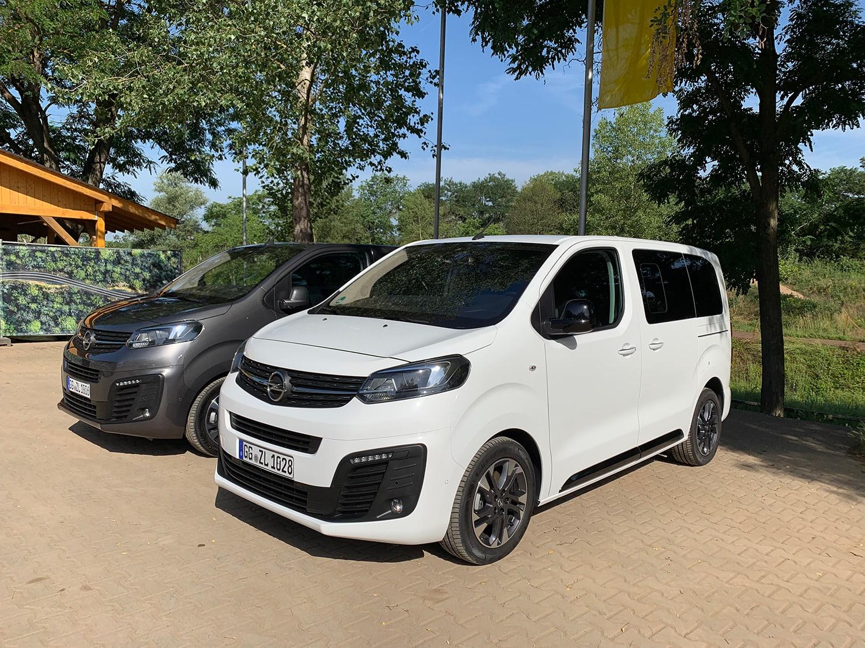 Opel Zafira Life Test