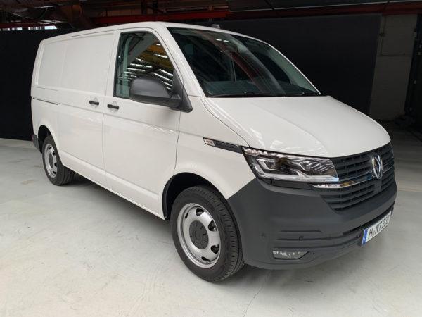 Kort test av nye VW Transporter T6.1 (aug 2019) Nybiltester
